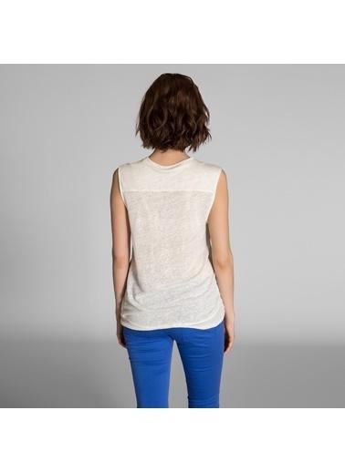Vekem-Limited Edition Bluz Ekru